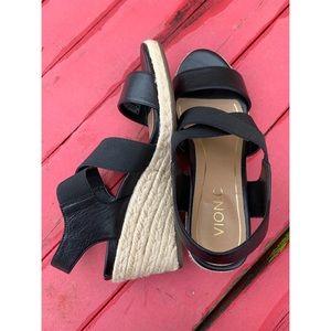 Vionic Ainsleigh Espadrille Wedge Sandals